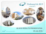 2Q 2018 Results Presentation