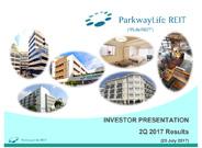 PLife REIT Investor Presentation Slides Q2 2017 Results
